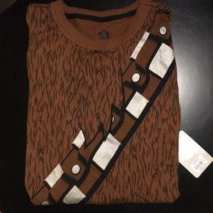 NEW Disney Star Wars Chewbacca Pajamas